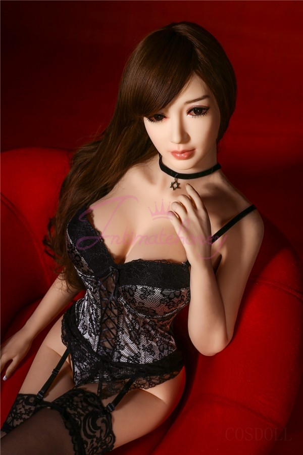 Asia Life Size Real Sex Doll with Sexy Lace for Men