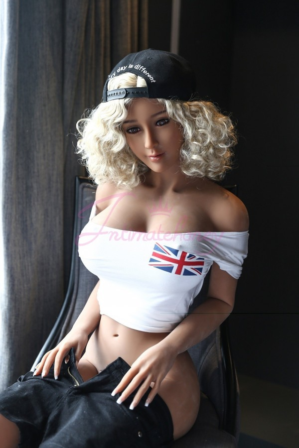 5.41ft bambola vivente di sesso femminile con gli occhi verdi & la pelle di TPE