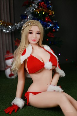 Brenda Chrismas Sweet Girl Love Doll Real Silicone Adult Sex Doll for Men