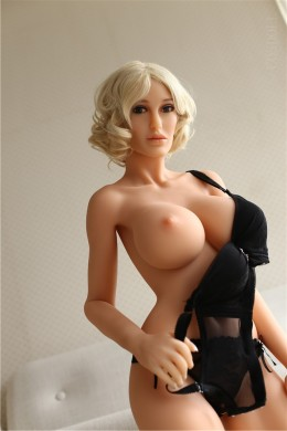 Shied Sex Doll con Oral Vagina anal en ropa interior negro
