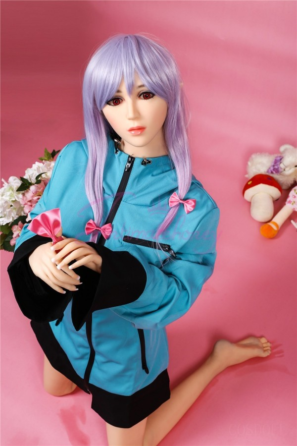 5.41ft Japanese TPE Sex Anime Doll with Red Eyes