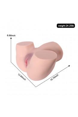 11 kg Masturbatore realistico Bambola del sesso con culo grosso Canali stretti per uomini Masturbazione Vagina Sesso anale