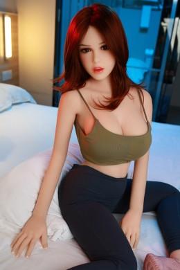 Lily Aziatische sekspop met grote borsten, meest realistische TPE-liefdespop