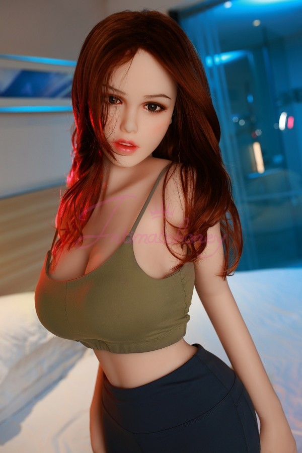 Lily Asian Sex doll with Big Breast, Most Realistic TPE Love Doll
