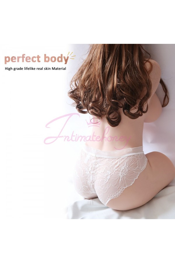 Dannia Lifelike Half Body Sex Doll 20KG, Soft and Tight Pussy as Real Women