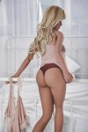 Nicole Elf with Blond Hair Sex Doll, Newest Lifesize Love Doll for Men