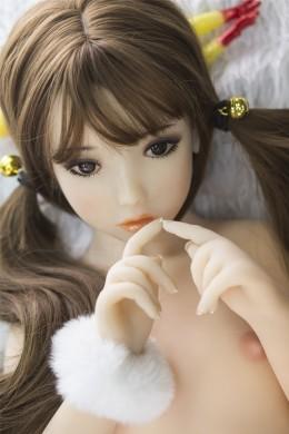 Hebe Cute and Pretty Youngest Little TPE sekspop met platte borst 3.28ft (100cm)