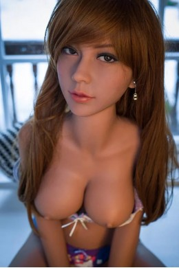 Judi Tan Colour Skin Lifesize Sexy Sex Doll For Hungry Man