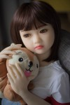 Ida Cute Little Girls with Small Chest TPE Silicone Mini Sex Doll for Men 4.1ft (125cm)
