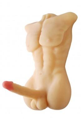 Torso mannelijke liefde sexpop met grote pik dildo voor homo en vrouwen gebruiken