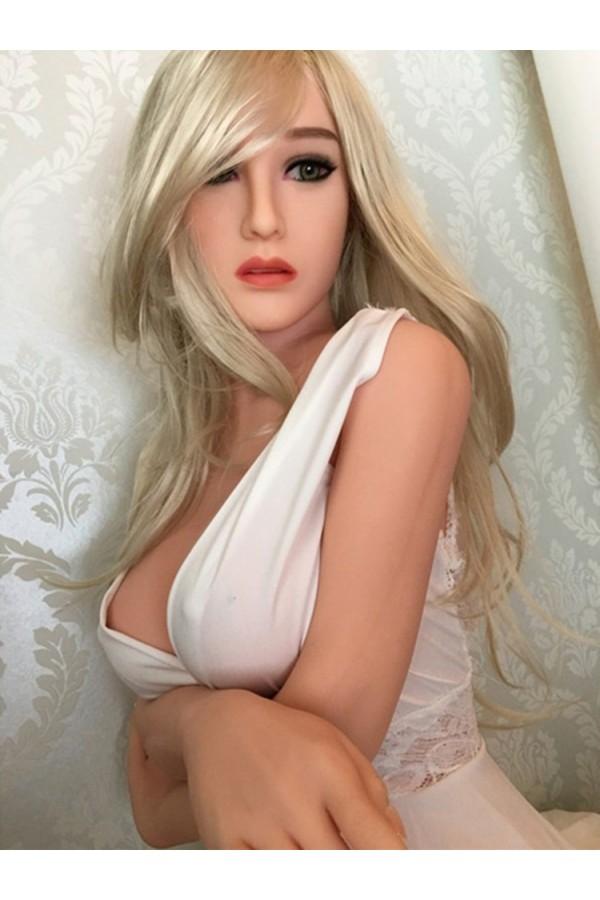 4.85ft Lifelike Green Eyes Princess Doll & TPE Skin