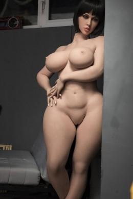 Betsy venta caliente mayor pecho y culo gordo curvy mujeres Sex Doll 165cm (5.41ft)